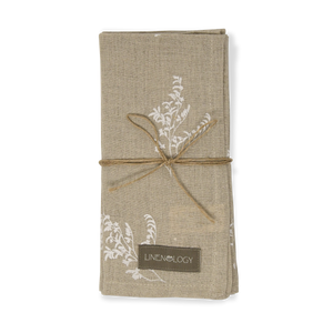 Load image into Gallery viewer, Napkins - Limonium - 100% natural linen