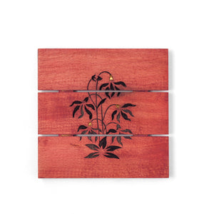 Load image into Gallery viewer, Mughal Butta Trivet Red