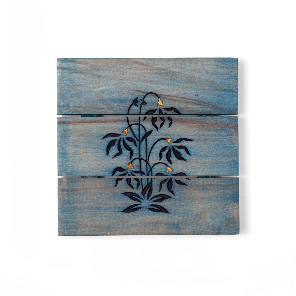 Load image into Gallery viewer, Mughal Butta Trivet Indigo
