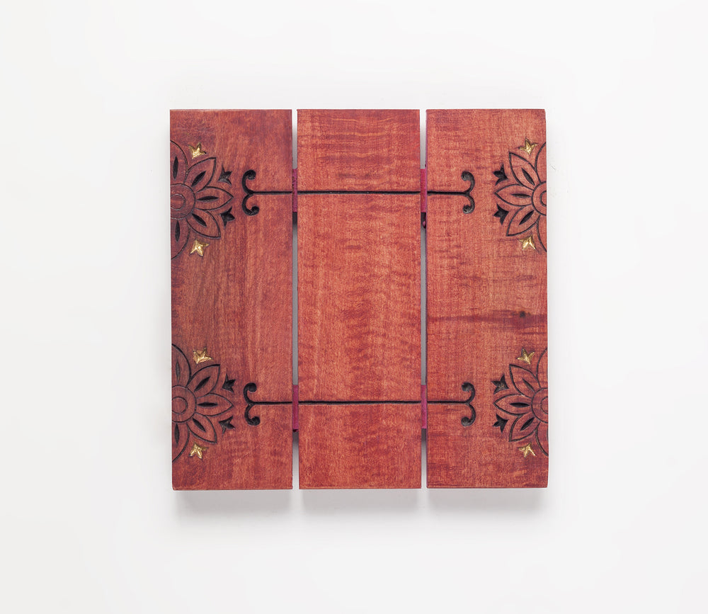 Load image into Gallery viewer, Seoni Trivet Red