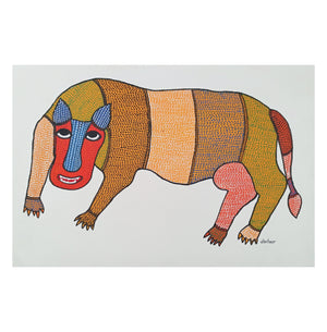 Gond : Red-Faced