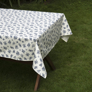 Acrylic Coated Table Cloth - English Rose - Cream