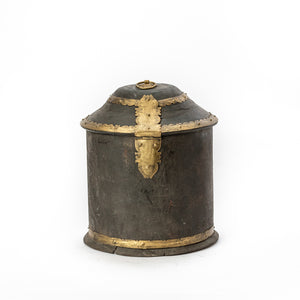 Handcrafted Wooden Grain Canister