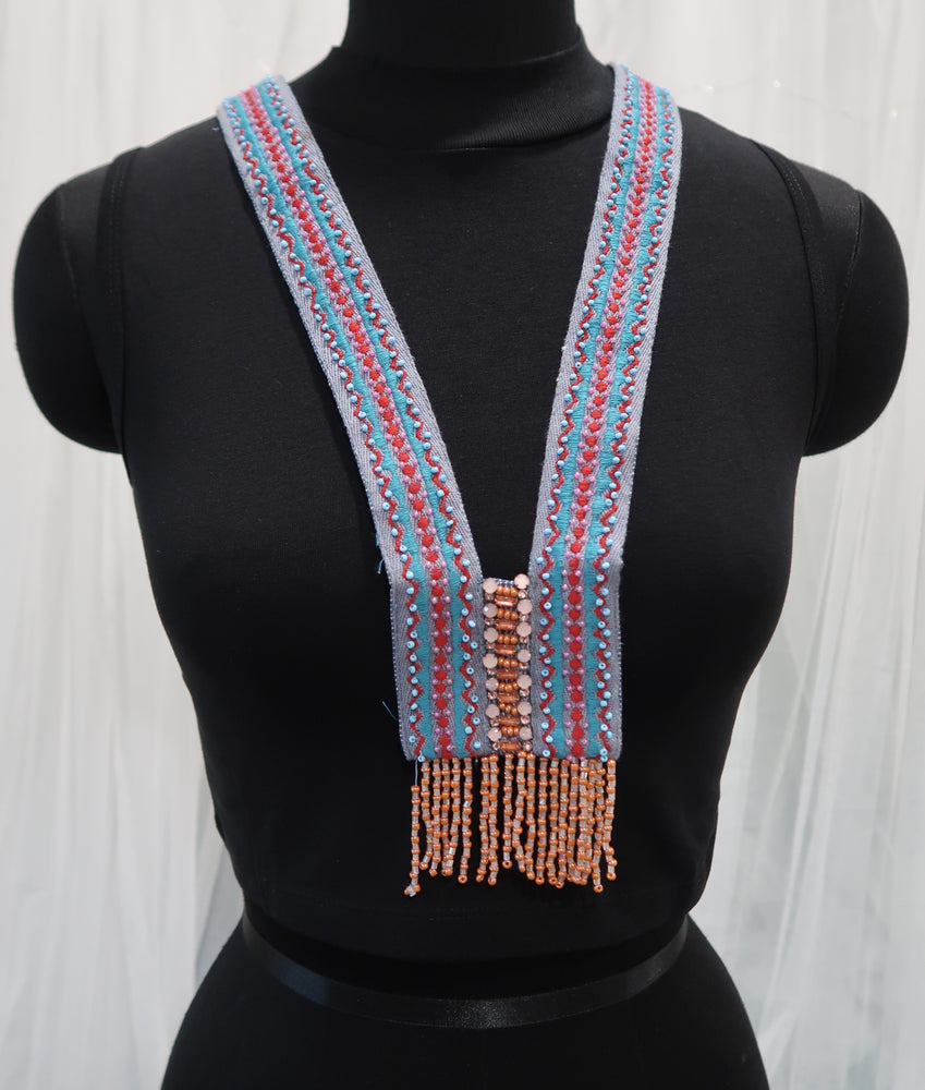 Fabric Statement Neckpiece