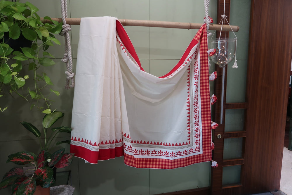 Load image into Gallery viewer, Bengal Handloom Saree