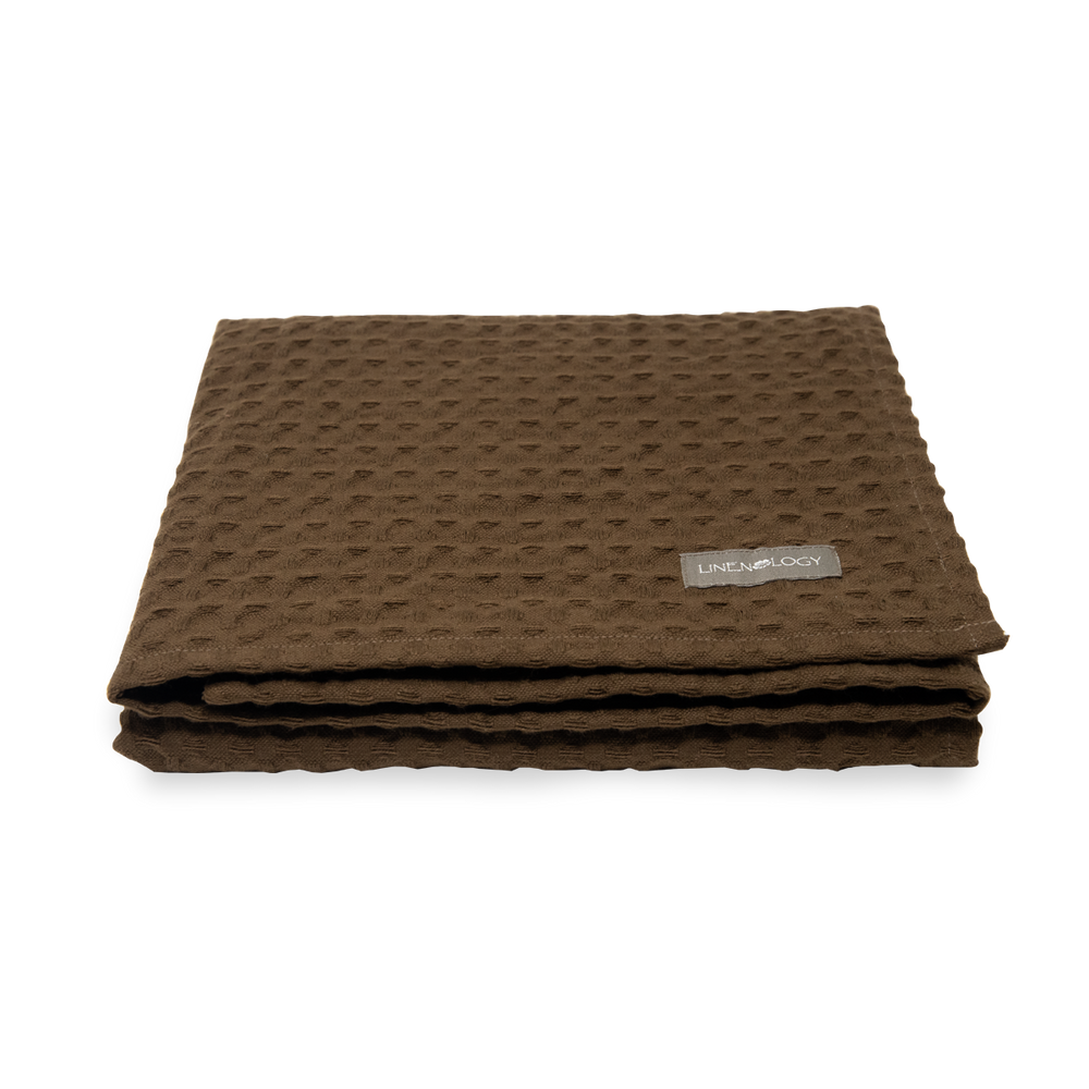 Load image into Gallery viewer, Chunky Waffle Towel - Dark Forest