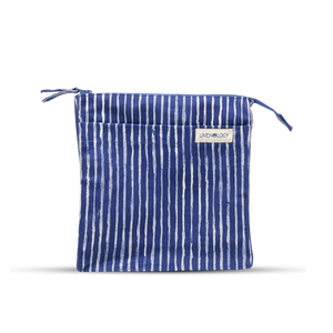 Wash Bag Tall - India Ink - Indigo