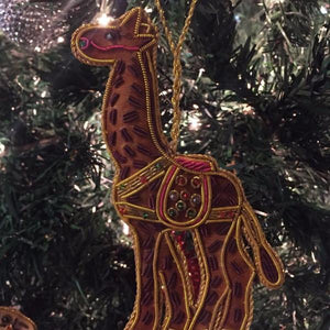 Load image into Gallery viewer, Animal Ornaments - Giraffe