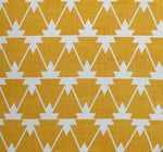 Aztec - Yellow on White