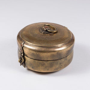 Brass Chappati Box