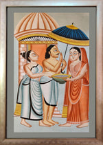 KALIGHAT : Offering at the Temple