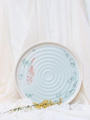 Paaro - River of Gold Platter (Set of 1)