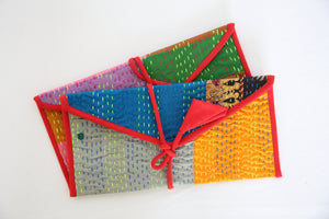 Anek Kantha Envelopes Set Of Two