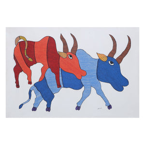 GOND : Two Cows