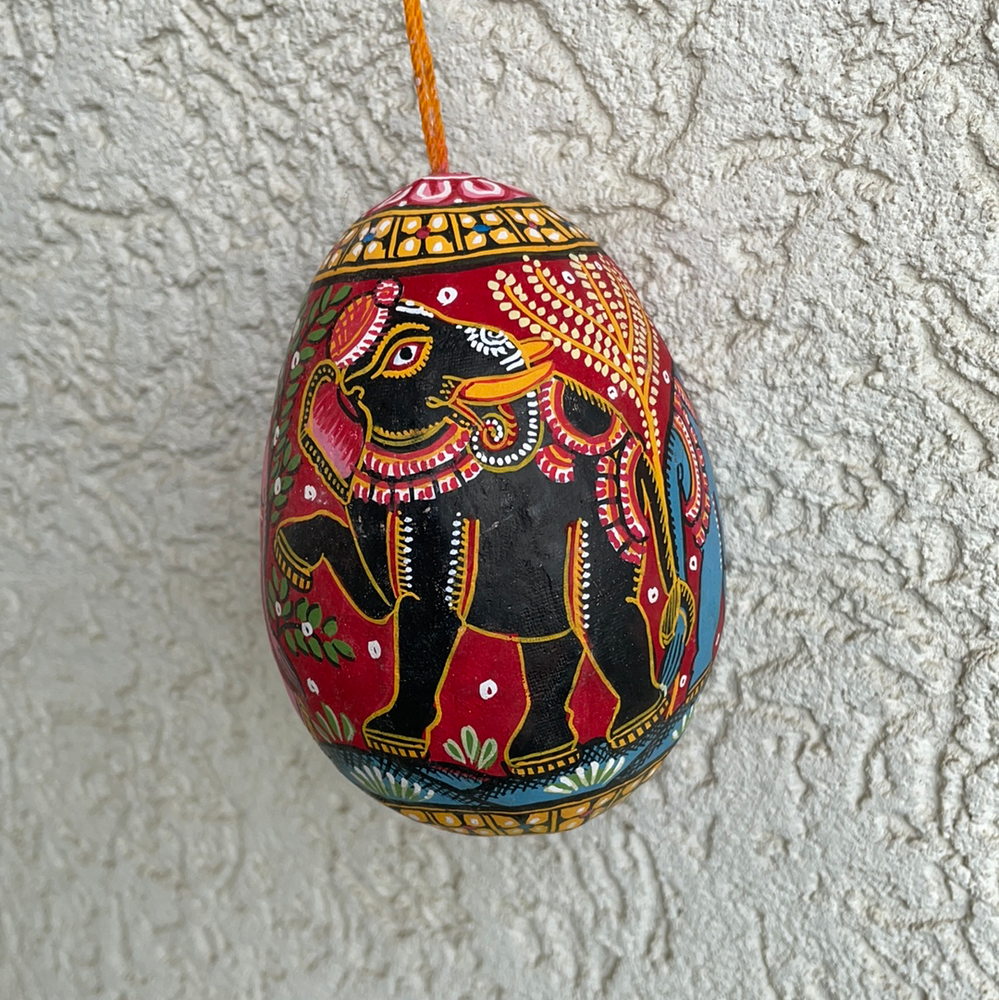 Load image into Gallery viewer, ORISSA PATTACHITRA : Painted Coconut