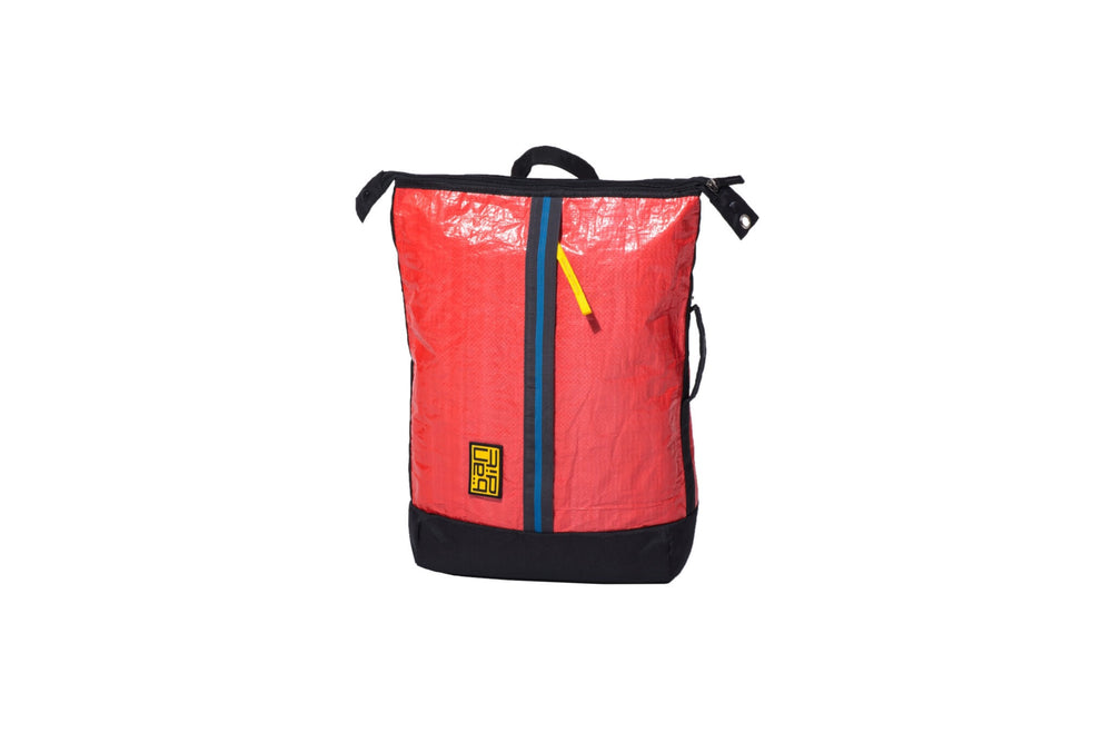 Tarpaulin Backpack Red