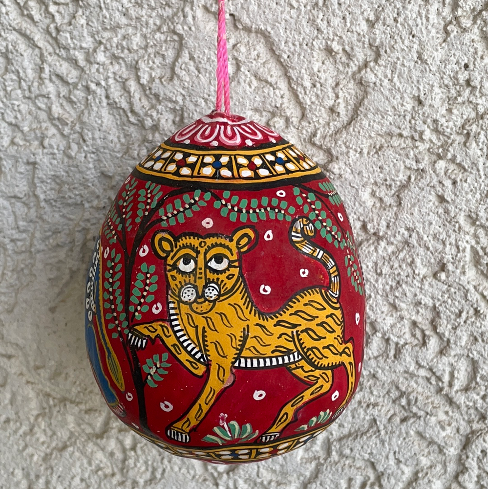 ORISSA PATTACHITRA : Painted Coconut