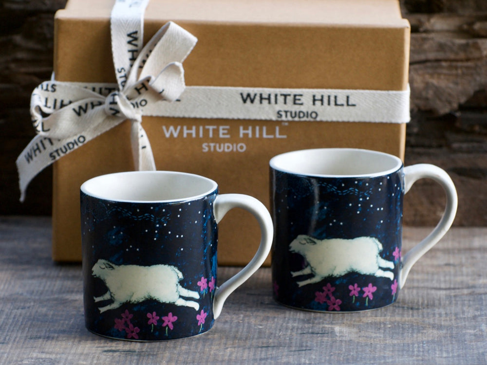 Midnight in Mashobra Tara Mugs (Set of 2)