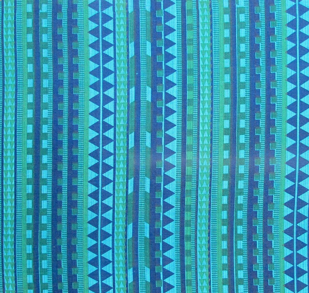 Nagastripes - Blues and Greens