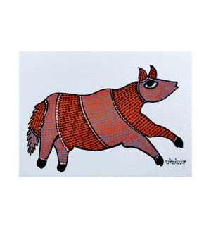 GOND : Postcard Fox