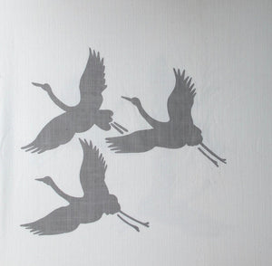 Load image into Gallery viewer, Storks - Grey on White
