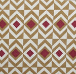 Target - Brown and Maroon on White