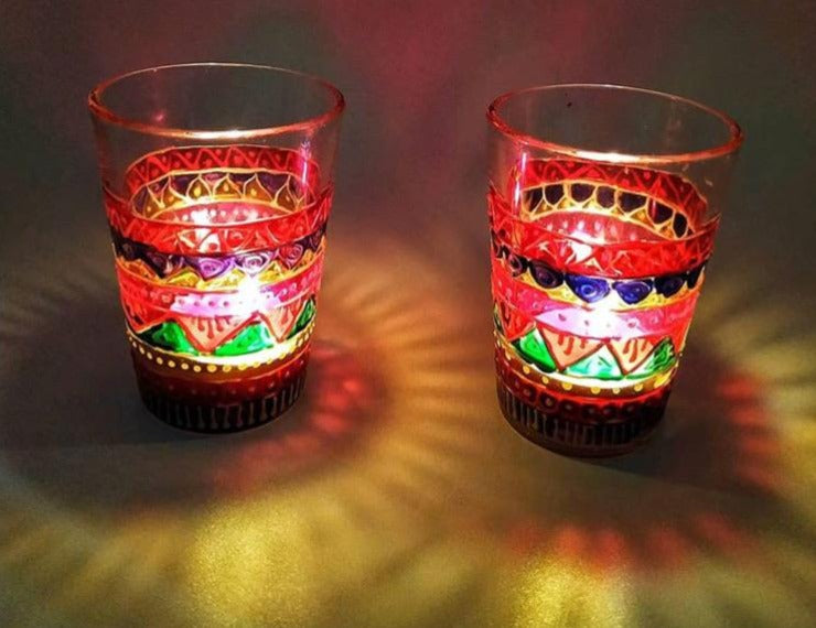 Candle Holders - Multicolor