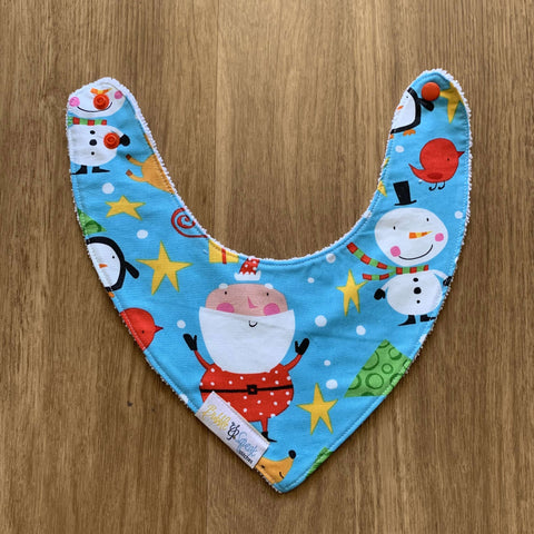 North Pole Bandana Dribble Bib