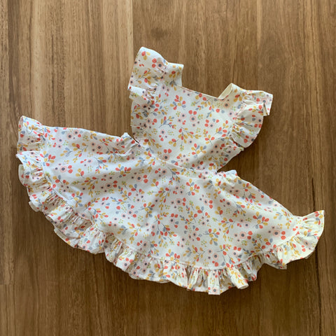Mini Vintage Frilly Dress/Romper in Charmed