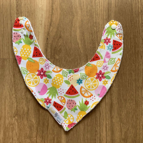 Fruit Salad Bandana Dribble Bib