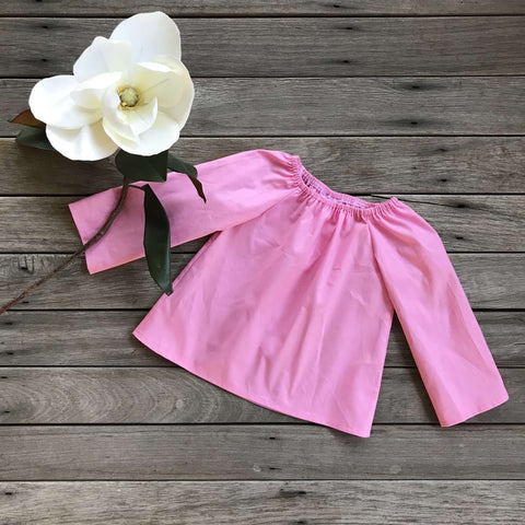 Lily Blouse in Carnation Pink