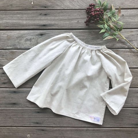 Lily Blouse in Natural