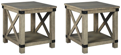 Aldwin Signature Design 2-Piece End Table Set