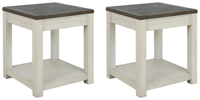 Bolanburg Signature Design 2-Piece End Table Set