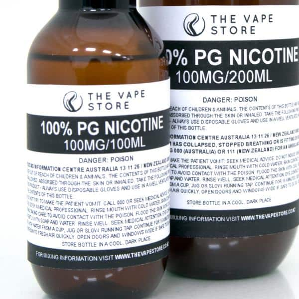 100mg Unflavoured Nicotine