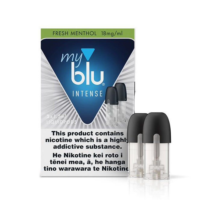 myblu Liquid Replacement Pods - Fresh Menthol - 18mg Intense