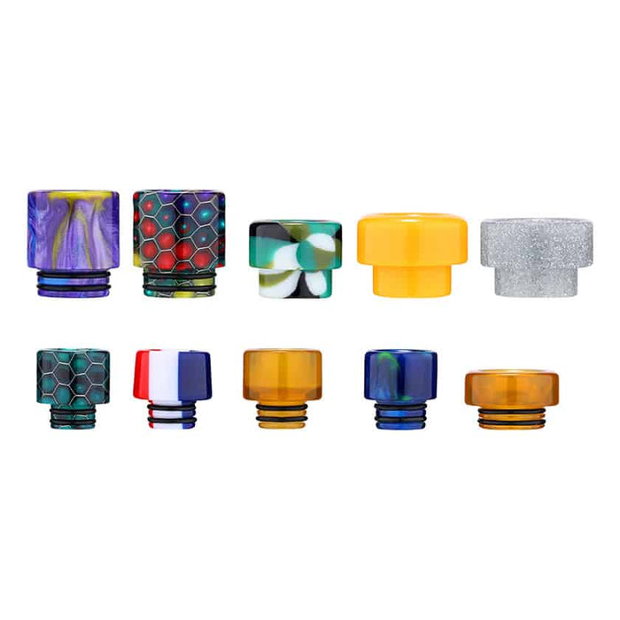 Aleader 510 and 810 Resin Drip Tips (10 pcs)