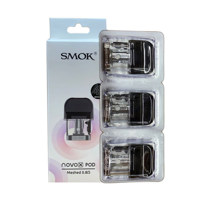 Smok Novo X Replacement Pods (3 Pack)