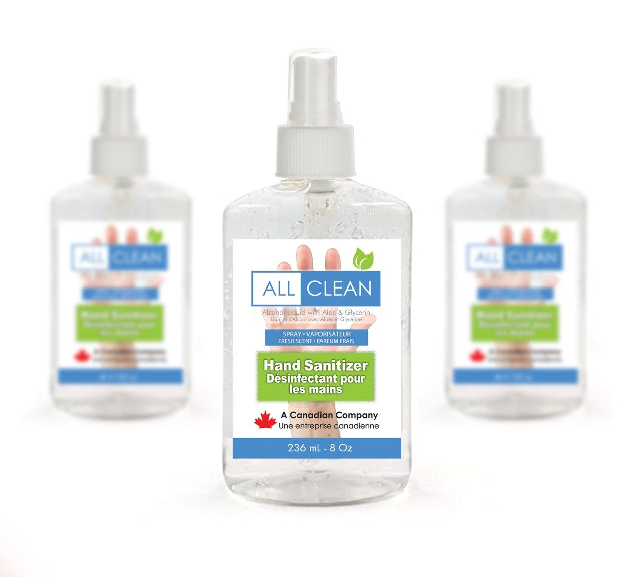 Hand Sanitizer 8oz/236mL Bottles (24 units/case)