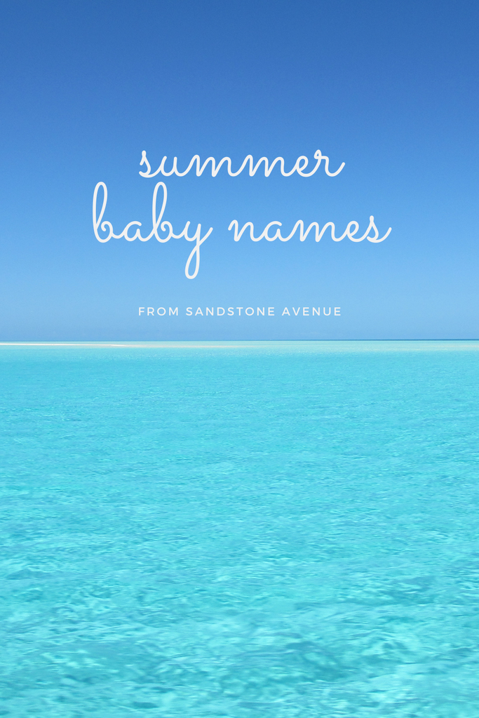 Summer Baby Name Ideas