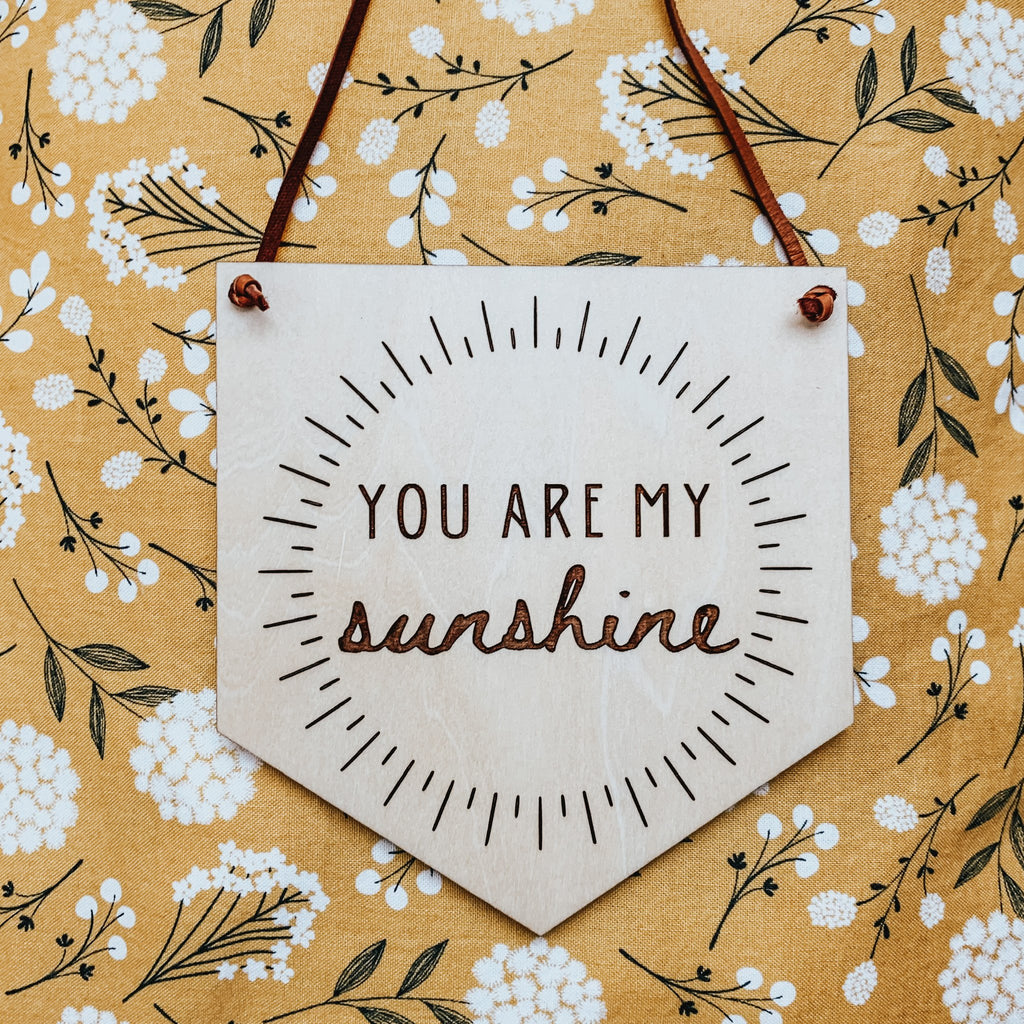 """You Are My Sunshine"" - Sandstone Avenue"