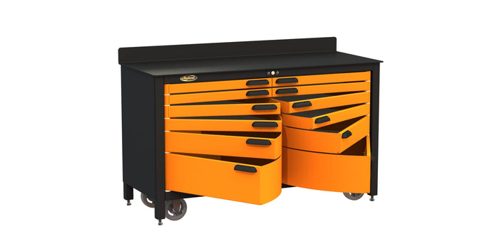 Mobile Workbench Storage – 12 drawers