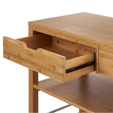 Load image into Gallery viewer, Kitchen Island w/ Drawers | Bamboo