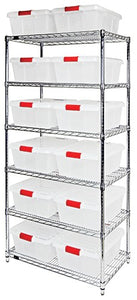 Latch Container Wire Shelving
