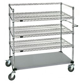 Corrosion-Free Surgical Case Cart