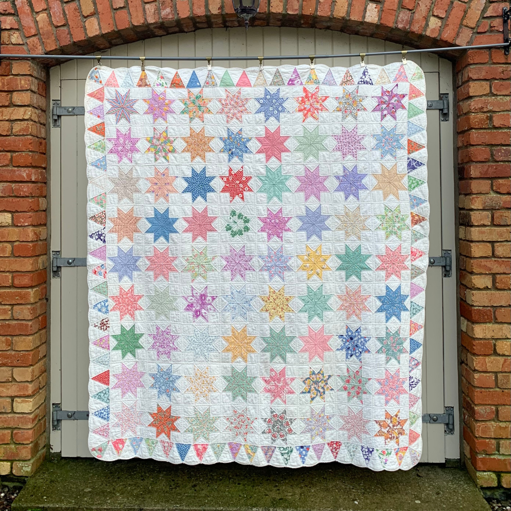 The Touching Stars Quilt (c.1930)