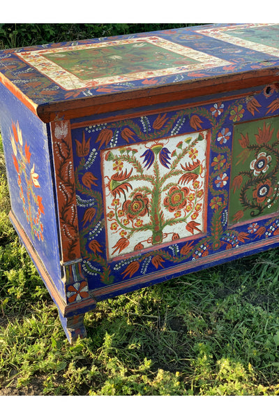 Eastern European Marriage Chest
