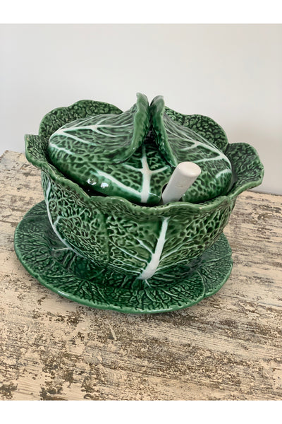 Antique Cabbage Leaf Pattern Set