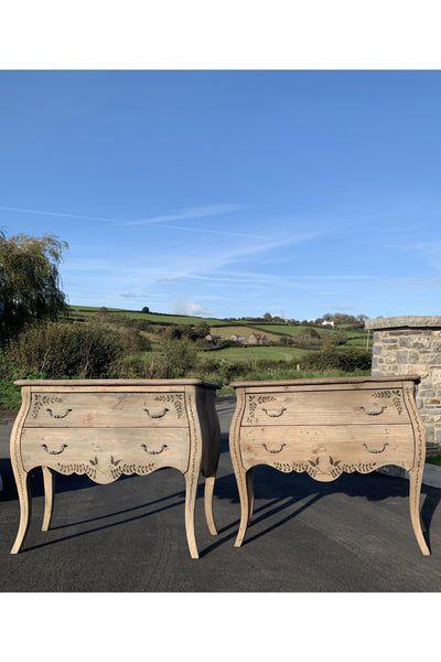 A Pair of Gustavian Influenced Chest of Drawers
