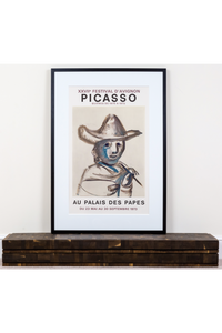 Picasso Original Exhibition Poster (1973)